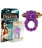 ANEL PENIANO VIBRATÓRIO STOYA PURPLE PLEASURE RING PIRATES