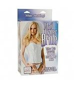 BONECA INFLÁVEL BRIDE - MAIL ORDER BRIDE WITH REMOVABLE OUTFIT