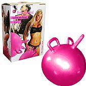 BOLA COM PÊNIS INFLÁVEL - PINK DIAMOND SINGLE MAGIC BALL